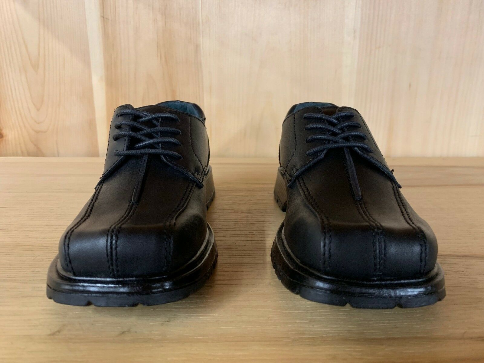 KENNETH COLE REACTION  DRESS SHOES BOOTS BLACK KIDS YOUTH SIZE 1-2 Y  F89067