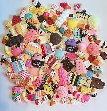 3D Resin Kawaii Ice Cream Cabochons Ice Cream Decoden Embellishments Crafts 50pc