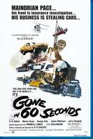 Gone In 60 Seconds Movie Poster 24x36