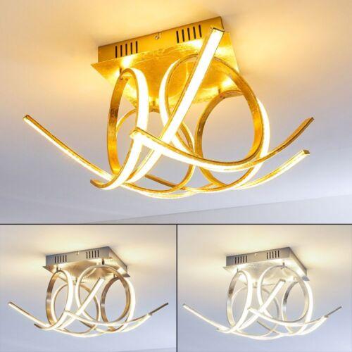 Design LED Deckenleuchte Felin Wohn Schlaf Ess Zimmer Küchen Dielen Flur Lampe
