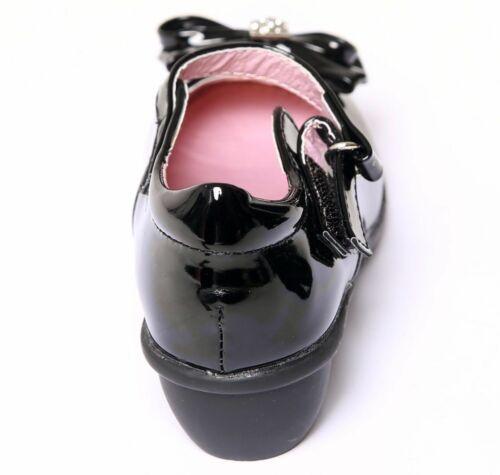 Bambine Bambini Bambini intelligente formale Mary Jane Scuola Scarpe Da Sera Con Tacco Basso