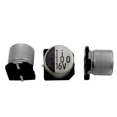 20x SMD Elko condensador 100µf 16v 105 ° C; rvd-16v101mf61u-r2; 100uf