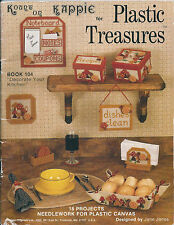 Kappie Plastic Canvas Treasures Patterns Bk104 Decorate Your Kitchen Patterns