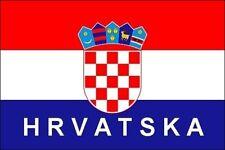 FLAG FRIDGE MAGNET - CROATIA HRVATSKA