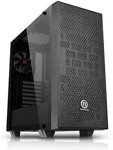 PC Gehäuse Midi Tower Thermaltake Core G21 Tempered Glass Edition Schwarz