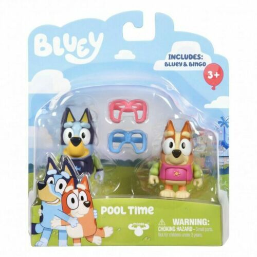 Bluey Grannies Bingo Figures Tv Show Mini Cake Topper Moose Toys New Fast Ship