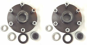Two 2 Idler Hub 6 X 5 5 Lug Bolt Pattern 3500lb Axle