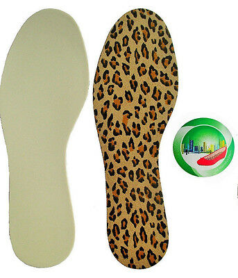 Suela Cómoda Plantillas Para Zapatos Tapicería ESPUMA MEMORY efecto Sich SU PIE