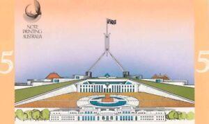 Australian-Mint-1992-1st-amp-Last-5-Folder-AA-F-amp-C-Polymer-amp-Paper-Banknote-Issue