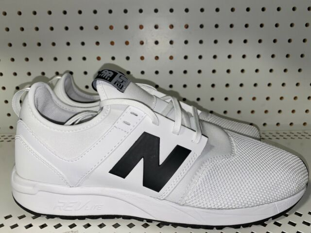 New Balance 247 Classic Mens Athletic Running Shoes Size 10 White Black