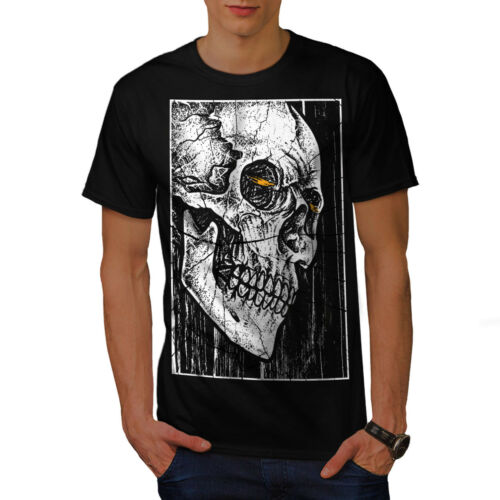 Wellcoda Death Look Cool Skull Mens T-shirt Graphic Design Printed Tee