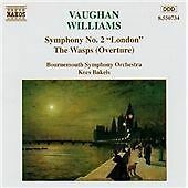 1 of 1 - Ralph Vaughan Williams - Vaughan Williams: Symphony No. 2; The Wasps (1994)