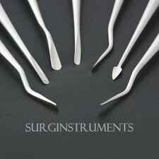 Dental Proximatorsluxating Elevator Set Of 7 With Sterilization Cassette