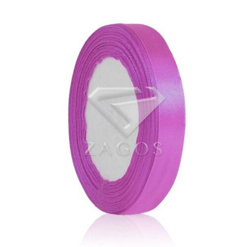 "25 Yards Hot Satin Ribbon 1/""25mm Craft Wedding Party Decrations DIY RN0006"