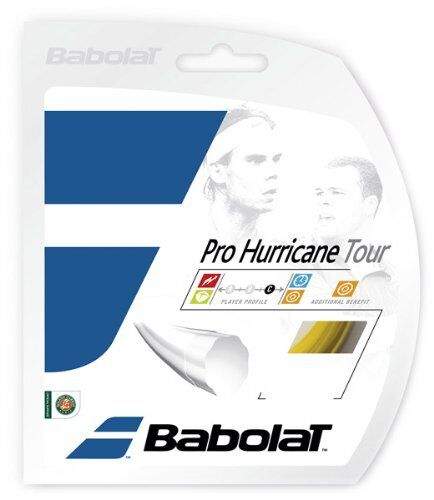 Babolat Pro Hurricane Tour Tennis String 1.20 // 1.25 // 1.30mm Yellow 12m
