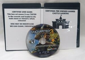 Uncharted Drake's Deception GOTY Game of the Year Edition PlayStation 3 DISC