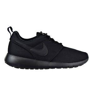 taille 40 34d94 6bd29 Details about Nike Roshe One Big Kids (GS) Shoes Black/Black-Noir 599728-031