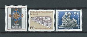 "BERLIN - 1981 YT 608 à 610 - NEUFS** MNH LUXE - France - Commentaires du vendeur : ""NEUF / MNH / POSTFRISCH LUXE"" - France"