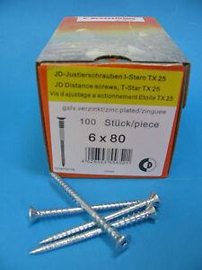 Justierschrauben-JDplus-Dresselhaus-TX25-vez-Abstandsschrauben-Distanzschraube