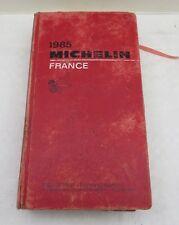 Guide Michelin de 1985 France