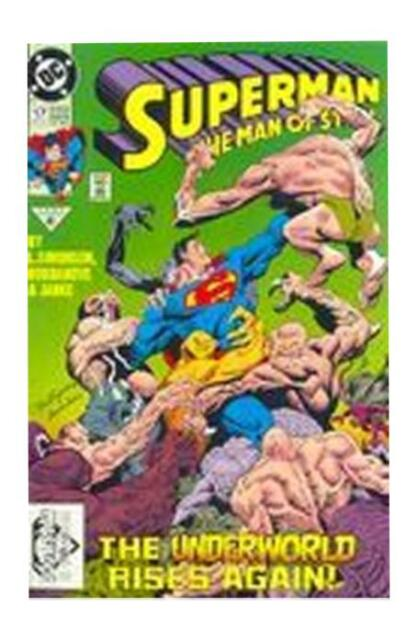 Superman The Man Of Steel 17 Nov 1992 Dc For Sale Online Ebay
