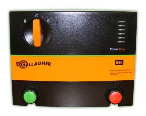 MM GALLAGHER B80 POWER PLUS ENERGIZER ELECTRIC FENCER ENERGISER