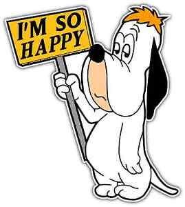 Droopy the dog cartoon droopy the dog pictures droopy the dog quotes - Droopy Dog Funny Happy Room Cartoon Car Bumper Window