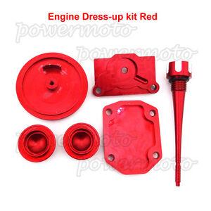 Engine Dress Up Kit Fit Pit Dirt Bike 50cc 70 90cc 110cc ...