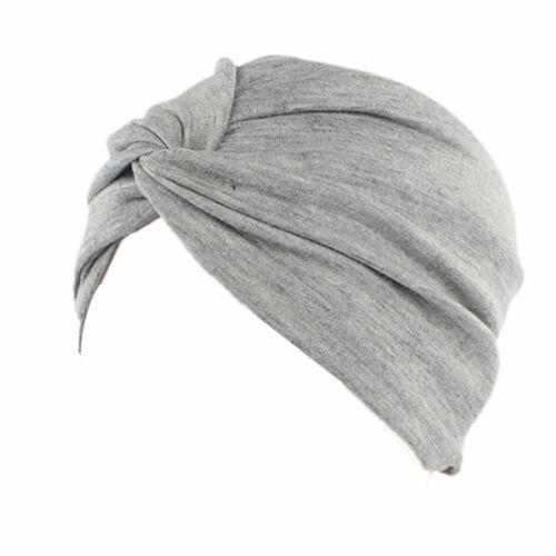 Women Cotton Cancer Chemo Hat Beanie Scarf Turban Head Wrap Cap for Hair Loss US