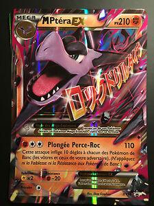 Carte pokemon m ptera xy98 mega ex promo jumbo fran aise neuf ebay - Pokemon ptera ...