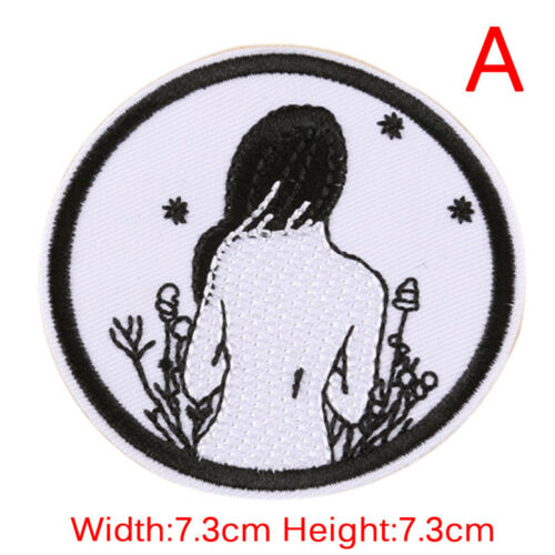 Embroidery Patches Sew On Iron On Badge Applique Bag Craft Sticker Transfer X