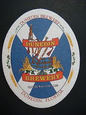 Reklame & Werbung Bier Untersetzerdunedin Brewery ~ ~ Florida Handgefertigter Ales Gär Seit Bier & Brauerei