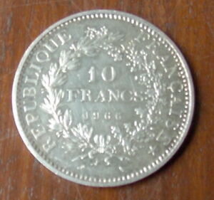 PIECE-REPUBLIQUE-FRANCAISE-10-FRANCS-EN-ARGENT-DE-1966