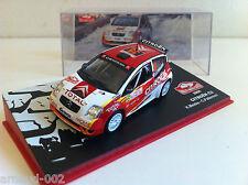 Ixo - Citroën C2 Rallye Monte Carlo 2005 Meeke Patterson (1/43)