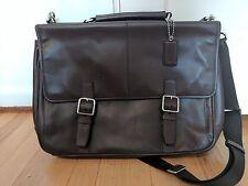Mahogany Brown Coach Lexington Briefcase Cross-Body Messenger/Laptop Bag