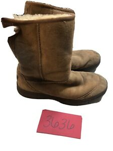 UGG Australia Sheepskin 5275 Womens brown Boots Size 8