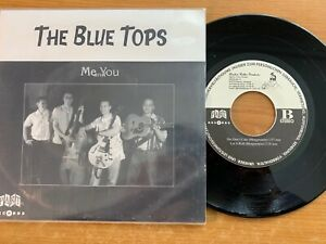"Blue Tops - Me And You // 7"" EP - 1. German-Pressing 1997 - TOP"