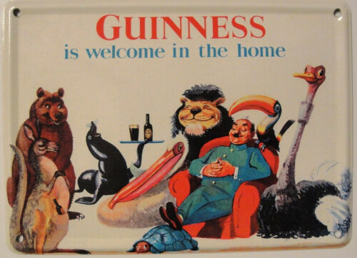 Guinness Is Welcome In The Home Mini Tin Sign