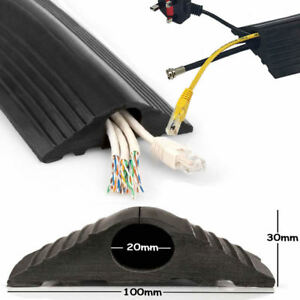 Image Is Loading Floor Cable Cover Protector Rubber Heavy Duty Trunking