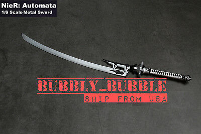 1//6 Scale Metal Sword For Nier Automata YoRHa No.2 Type B Type A ☆SHIP FROM USA☆