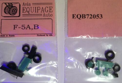 EQB72053 Equipage 1/72 Rubber Wheels for Northrop F-5A / F-5B Freedom Fighter