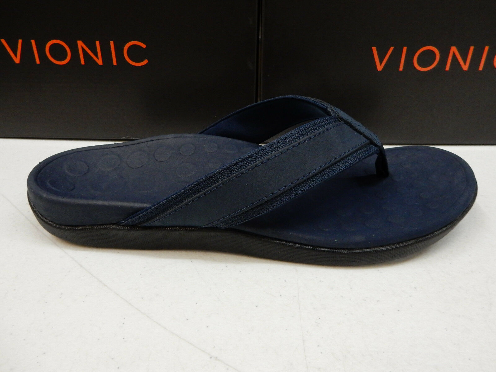 VIONIC Uomo SANDALS TIDE NAVY SIZE 13