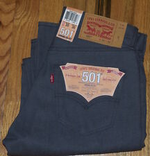 NWT Levi's 501 Jeans USA White Oak Cone Denim Shrink-to-Fit Gray Rigid 30X30 $69