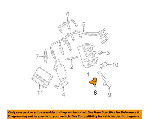 CHRYSLER OEM-Engine Crankshaft Crank Position Sensor CPS 5029811AD