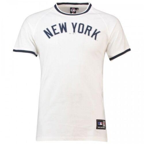 T-shirt Majestic Freeman Long Line New York Yenkees