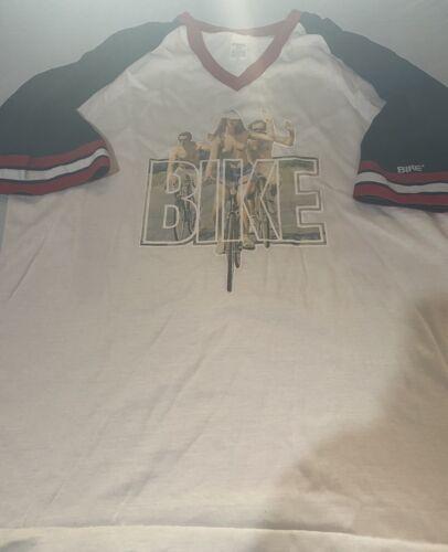 Vintage 1970s V Neck Bike T Shirt ROACH 1976 4022