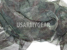 NEW US USMC Army Woodland Camo Netting 5 x 8 Ghillie Mesh Veil Cover Deer Blind