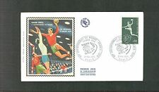 FRANCE SC 1265 HANDBALL FDC  1970 FIRST DAY COVER TOPICAL SPORTS