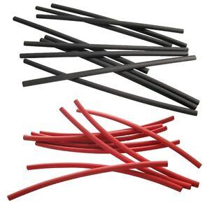 2-Meter-Schrumpfschlauch-rot-schwarz-2-4-auf-1-2-mm-ideal-fuer-duenne-Litze-LEDs