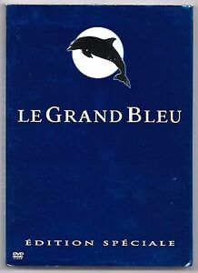 RARE-2-DVD-LE-GRAND-BLEU-EDITION-SPECIALE-DEDICACE-AUTOGRAPHE-JEAN-RENO